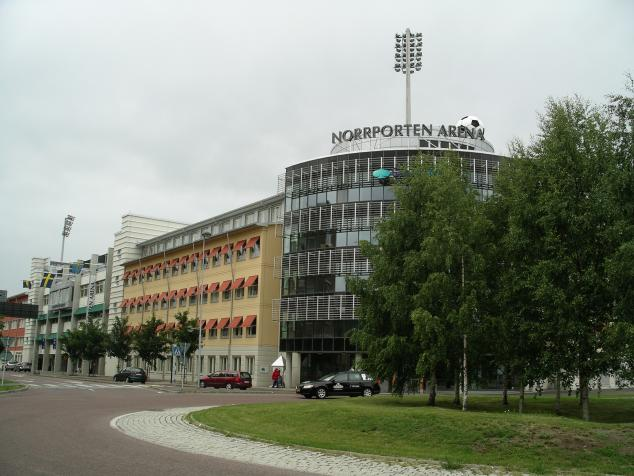 outside norrporten arena